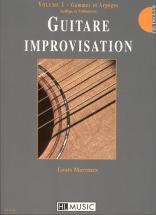 Martinez Louis - Guitare Improvisation Vol.1 + Cd - Guitare