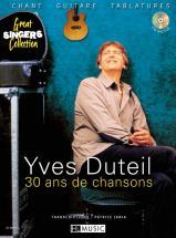 Duteil Yves - 30 Ans De Chansons + Cd - Chant, Guitare