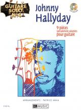 Hallyday Johnny - Guitare Solo N°4 : Johnny Hallyday + Cd - Chant, Guitare