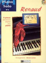 Renaud - Piano Solo N°4 : Renaud + Cd - Piano