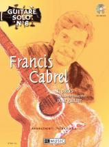 Cabrel Francis - Guitare Solo N°8 : Francis Cabrel + Cd