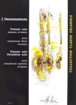 Demersseman Jules-auguste - Solos (3) - Saxophone Sib, Piano