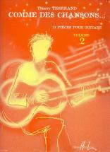 Tisserand Thierry - Comme Des Chansons Vol.2 - Guitare