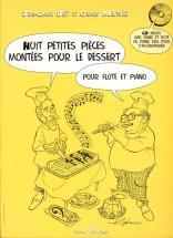 Meunier G./ Diot J.c. - Petites Pieces Montees Pour Le Dessert (8) + Cd - Flute, Piano