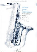 Etudes Pour Saxophone Vol.1