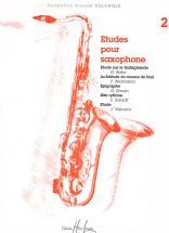 Etudes Pour Saxophone Vol.2