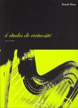 Wery Benoît - Etudes De Virtuosite (4) - Harpe