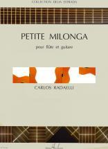 Radaelli Carlos - Petite Milonga - Flute, Guitare