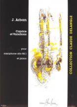 Arban Joseph - Caprice Et Variations - Saxophone Mib