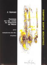 Savari Jerome - Fantaisie Sur Des Motifs Du Freischutz - Saxophone