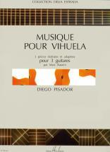 Pisador Diego - Musique Pour Vihuela - 3 Guitares