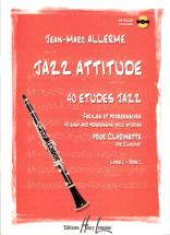 Allerme Jean-marc - Jazz Attitude Vol.1 + Cd - Clarinette