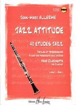 Allerme Jean-marc - Jazz Attitude Vol.1 + Cd - Clarinette