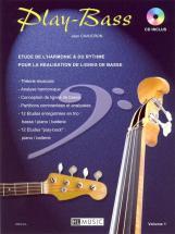 Chaudron Jean - Play-bass Vol.1 + Cd - Basse