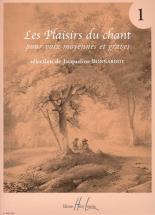 Bonnardot Jacqueline - Les Plaisirs Du Chant Vol.1 - Voix Moyenne Ou Grave, Piano