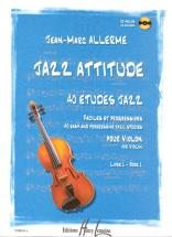 Allerme Jean-marc - Jazz Attitude Vol.1 + Cd - Violon