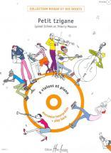 Schmitt Lionel / Masson Thierry - Petit Tzigane + Cd - 2 Violons, Piano