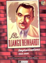 Reinhardt Django - Improvisations 1935-1949 + Cd - Guitare