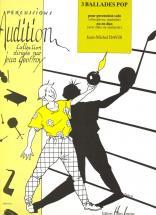 Davis Jean-michel - Ballades Pop (3) - Vibraphone Ou Marimba, Flute Ou Clarinette