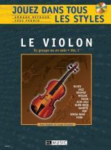 Reynaud A./ Perrin Y. - Jouez Dans Tous Les Styles Vol.1 + Cd - Violon