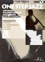 Pellegrino Michel - One Step Jazz + Cd - Instrument Sib