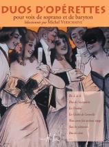 Verschaeve Michel - Duos D'op�rettes - Soprano,baryton,piano