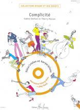 Chefson S./ Masson T. - Complicite + Cd - Flute Ou Violon, Harpe Ou Piano