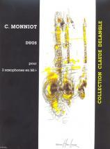 Monniot Christophe - Duos - 2 Saxophones Mib