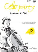 Allerme Jean-marc - Cello Party Vol.2 + Cd - Violoncelle, Piano