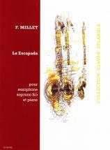 Millet Fernando - La Escapada - Saxophone, Piano