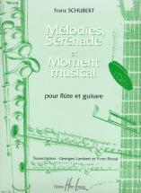 Schubert Franz - Mélodies, Sérénade Et Moment Musical - Flute, Guitare