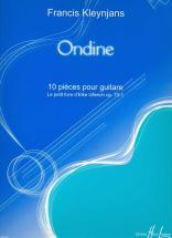 Kleynjans Francis - Ondine - 10 Pièces Op.73-1 - Guitare