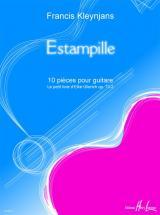 Kleynjans Francis - Estampille Op.73-3 - Guitare