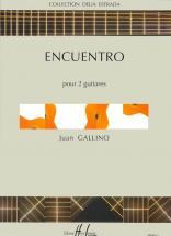 Gallino Juan - Encuentro - 2 Guitares