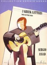 Assad Sergio - Greek Letters (3) - Guitare
