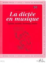 Chepelov P. / Menut B. - La Dictée En Musique Vol.3 + Cd - Fin Du 1er Cycle