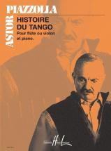 Piazzola A. - Histoire Du Tango - Flute Ou Violon, Piano