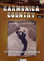 Herzhaft David - Harmonica Country Vol.1 + Cd