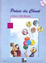 Siciliano Mi-h. / Zarco J. - Poésie Du Chant + Cd