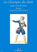 Bonnardot Jacqueline - Les Classiques Du Chant - Tenor, Piano