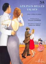Charrier V. / Ravez C. - Les Plus Belles Valses Vol.3a - Violon, Piano