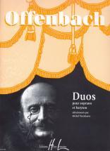 Offenbach Jacques - Recueil De Duos - Soprano,baryton,piano