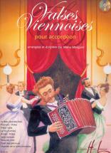 Maugain Manu - Valses Viennoises + Cd - Accordéon