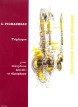 Pichaureau Claude - Triptyque - Saxophone Mib And Vibraphone