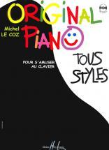 Le Coz Michel - Original Piano Tous Styles + Cd - Piano