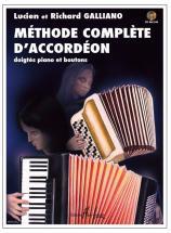 Galliano Richard & Lucien - Méthode Complète D'accordéon + Cd