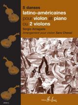 Arriagada S. / Chenal S. - 5 Danses Latino-americaines - Violon, Piano