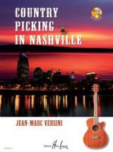 Versini Jean-marc - Country Picking In Nashville + Cd - Guitare