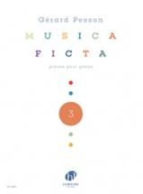 Pesson G. - Musica Ficta Vol.3 - Piano