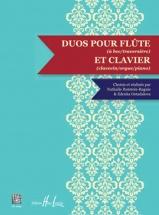Partition Classique - Rotstein-raguis N. / Ostadalova Z. - Duos Pour Flute Et Clavier